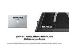4 x Marines logo style 2 Vinyl Decal Sticker Laptop, Tablet, Truck Window