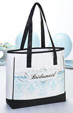 Bridesmaid Aqua Tote Bridesmaids Gift Wedding Party Gift