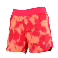 Asics fuzeX 5,5 In Print Short Melon Splash Print Damen Laufshorts Pink Orange