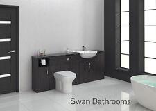 Hacienda Noir monté salle de bains meubles 2100mm