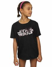 Star Wars Girls The Last Jedi Spray Logo T-Shirt