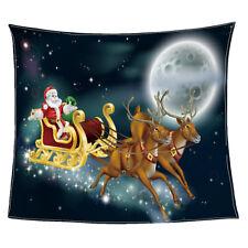 Couverture Bébé Décoration pour Noël de Chambre Salon en Flanelle 80x150cm
