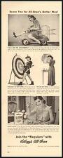 Kellogg's All-Bran Cereal Vintage Ad 1941 (112211)