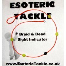 Braid & Bead Sight and Strike Indicator (orange) Czech Nymph
