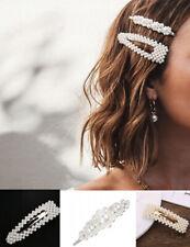 1 Stück Haarklammer Perle Haarspange Haarclip Haarschmuck Hochzeit