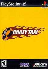 Crazy Taxi (Sony PlayStation 2, 2001) - European Version