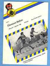 Orig.PRG    Cup der Pokalsieger  86/87    1.FC LOK LEIPZIG - GLENTORAN BELFAST