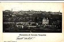 #CORNETO TARQUINIA: PANORAMA