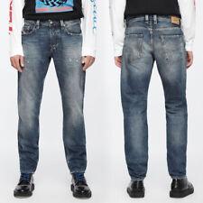 Diesel Mens Regular Tapered Fit Used Look Jeans Pant Trouser | Larkee-Beex 084VB