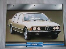 BMW 745i Dream Cars Card