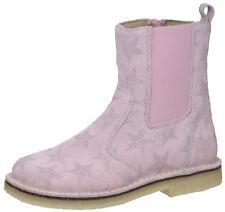 FS 18 Zecchino d'Oro A06-668 Stiefeletten Boots Leder Sterne Rosa 28 - 34 Neu