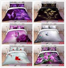 Butterfly Doona Quilt Duvet Cover Set Queen King Single Size Bedding Linen Set