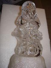 MR. CHRISTMAS ACRYLIC LIGHT SCULPTURE SANTA CLAUS