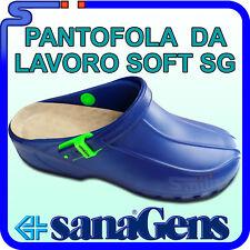 PANTOFOLE PANTOFOLA DA LAVORO SANAGENS SOFT SG ZOCCOLI IN GOMMA EVA CON  PLANTARE 1eca1a2e2e2