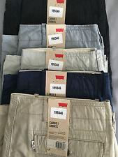 Genuine  Men's Levi Cargo Shorts  6-Pocket Pure Cotton Herringbone