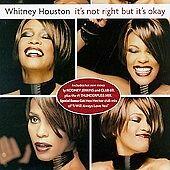 It's Not Right, But It's Okay Whitney Houston MUSIC CD