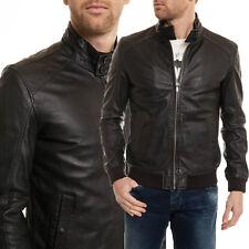 US Men Leather Jacket Hommes veste cuir Herren Lederjacke chaqueta de cuero R108