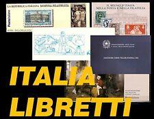 ITALIA Libretti tutte le emissioni PRFETTI!!!!!! MNH** Integri
