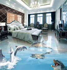 Perfect Jumping Arc3D Floor Mural Photo Flooring Wallpaper Home Print Decoration