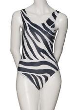KDC026 Girls ladies Zebra Animal Print Sleeveless Dance Leotard Katz Dancewear