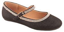 Girls Kids Diamond glitter strip ballet flats shoes  on sale now blk gold sliver