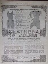 1916 Athena Underwear For Women & Children Advertisement
