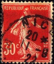 FRANCE - FRANCIA - 1921/22-Seminatrice su fondo unito