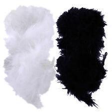 Kleid Zubehör für Grammatik Feather Boa Strip Federn Gewebe aus Bekleidung