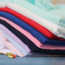 1m Crinkle Chiffon Fabric Solid Crepe Cloth 59'' DIY Dress Garment Sewing Craft