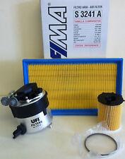FORD Focus mk2 1.6 TDCi 10/05 - > 03/07 Diesel Kit Servizio Filtro Carburante Aria Olio