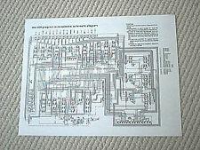 dbx 400 program route selector schematic diagram