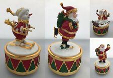 Musical Christmas Ornament Figurines Snowman Santa Claus Father Christmas Xmas