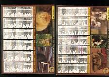 calendrier année 2000 - almanach -  bon etat complet cote d'or -
