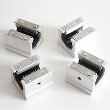 4 pcs Linearschlitten  SBR10UU-25UU  für Welle SBR Lineare Führungen 3D CNC