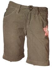 9c366ffa642476 Pantalone corto Short Pantaloncino Invernale Donna Vellutino INDIAN  ROSE44-45-46