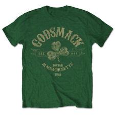 Godsmack 'Celtic' (Green) T-Shirt - NEW & OFFICIAL!