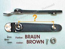 Balghalter, Balgriemen, Akkordeon Ersatzteile, accordion bellows straps, BRAUN