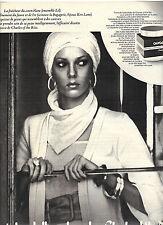 publicite  1975   CHARLES OF THE RITZ  cosmétiques  creme auroseva