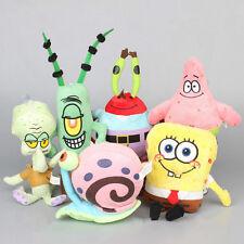 6 SpongeBob SquarePants Plüsch Plüschtier Stofftier Kuscheltier Puppe Spielzeug