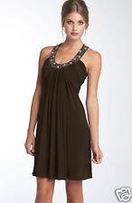 NWOT JS Boutique Jeweled Jersey Dress SZ4 BLUE