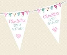 Baby Shower Personalizado escribano- Banner de decoración fiesta Mezclado Niño &