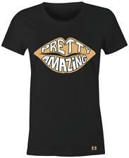 """PRETTY AMAZING"" Women/Juniors T-Shirt to Match Retro Heiress Black Gold 11's"
