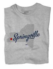 Springville New York NY T-Shirt MAP