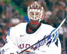 Niklas BACKSTROM Signed 2010 Olympics Photo FINLAND