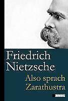 Nietzsche, Friedrich: Also sprach Zarathustra