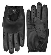 Premium Kleid Handschuhe Retro Stil Leder Herren Oldtimer Chauffeur Fahren