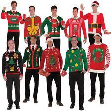 Ugly Christmas Sweater Adult Tacky Funny Xmas Holiday