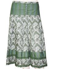 CHIPIE jupe verte imprimée taille 34