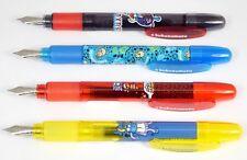 Inoxcrom Kukuxumusu Fantastics Fountain Pens. 4 Colours. Collectable NEW