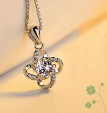 !!! lo último!!! - Plata Esterlina 925 De Lujo Estrella de Infinito Colgante Collar de mujer